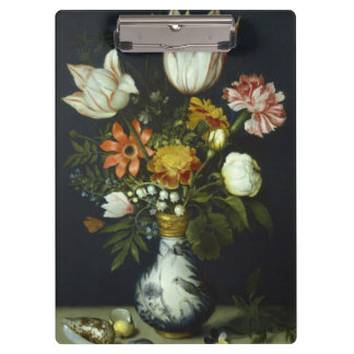 Flowers in a Vase Clipboard