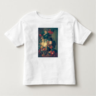 Flowers in a Vase with a Bird's Nest Toddler T-Shirt