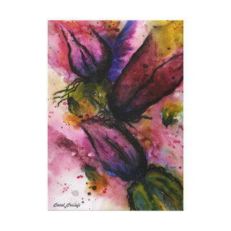 Flowers in Anguish Canvas Print