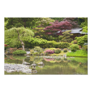 Flowers in bloom at Japanese Garden, Photo