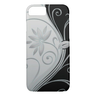 Flowers in Contrast iPhone 7 Case