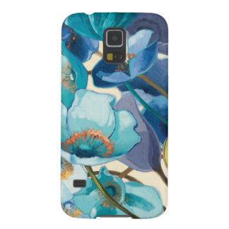 Flowers in Different Shades of Purple and Blue Case For Galaxy S5