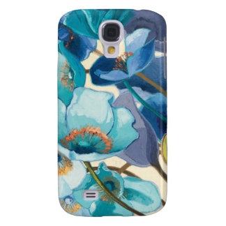 Flowers in Different Shades of Purple and Blue Galaxy S4 Case