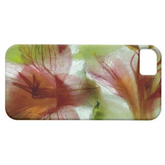 Flowers in ice iPhone 5 cover