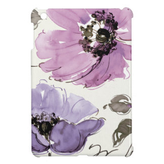 Flowers in Shades of Purple Cover For The iPad Mini