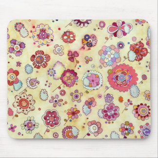 Flowers in the Clouds Mousepad