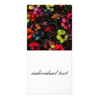 Flowers in the Dark (I) Photo Card