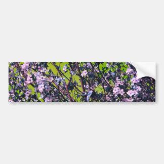 Flowers In the Flowers Bumper Sticker