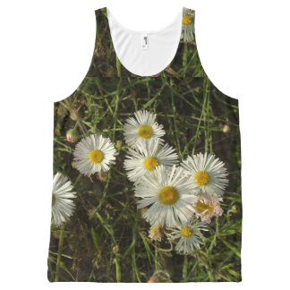 Flowers in the Meadow Tank Top All-Over Print Tank Top