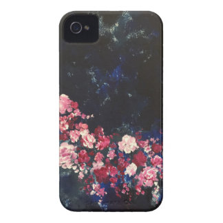 Flowers in the Night Sky Case-Mate iPhone 4 Cases