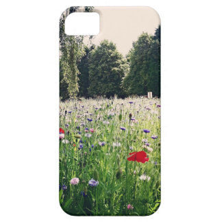 Flowers in the park iPhone 5 cases