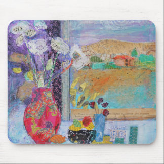 Flowers in the Window 2014 Mouse Pad