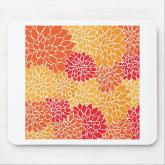 flowers in type abtrato mousepad