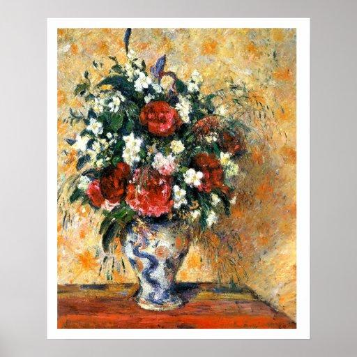 Flowers In Vase Poster 18x22