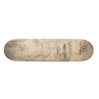 Flowers & Insects Skate Board Deck