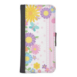 Flowers iPhone 5/5S Wallet Case