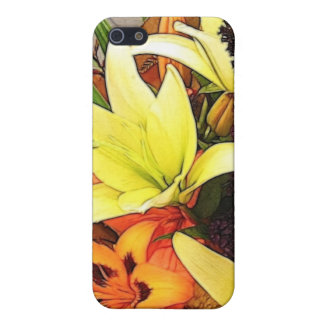 FLOWERS CASE FOR iPhone 5/5S