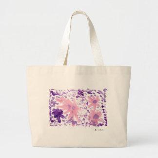 Flowers Large Tote Bag