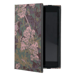Flowers, leafs, and camouflage iPad mini cases