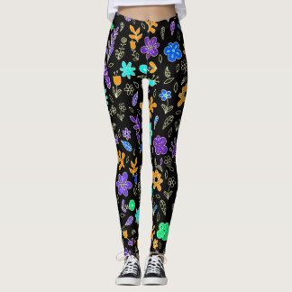 Flowers! Leggings