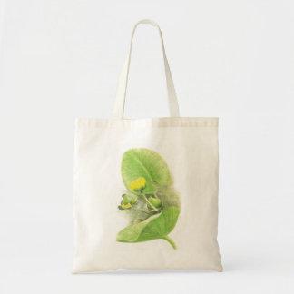 Flowers lilies tote bag