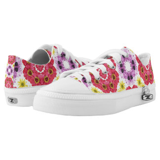 Flowers Low Tops