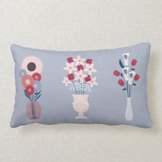 Flowers Lumbar Pillow
