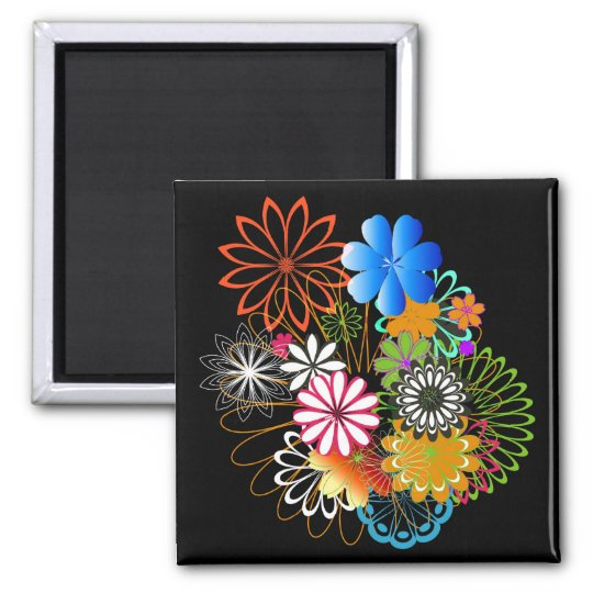 Flowers Magnet