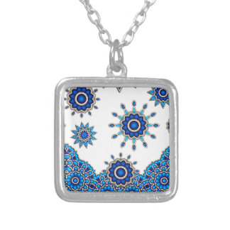 Flowers Mandala motive Pendants