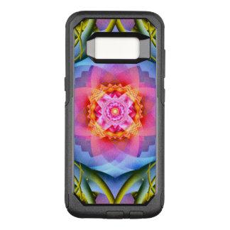 Flowers Mandala OtterBox Commuter Samsung Galaxy S8 Case