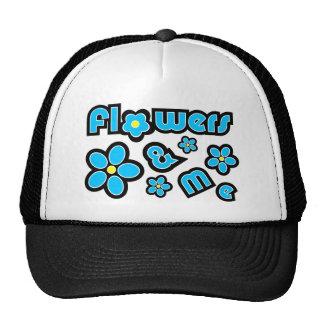 Flowers & Me Mesh Hats