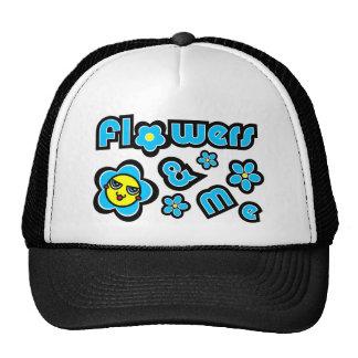 Flowers & Me Trucker Hats