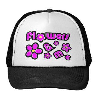 Flowers & Me Mesh Hat