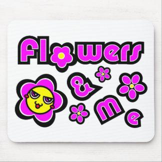 Flowers & Me Mousepad