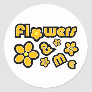 Flowers & Me Stickers