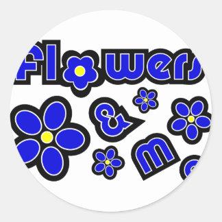 Flowers & Me Sticker