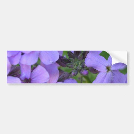 Flowers mf 235 bumper sticker