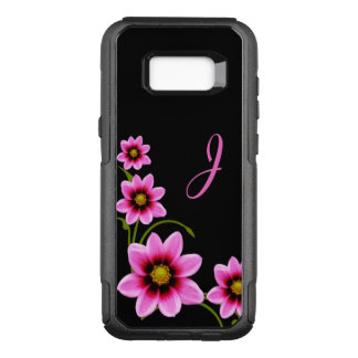Flowers Monogrammed Otterbox Samsung S8 Case