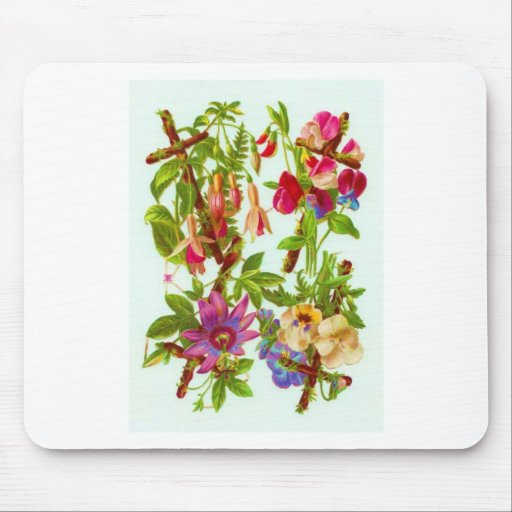 Flowers Mouse Mat