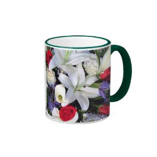 Flowers Ringer Mug