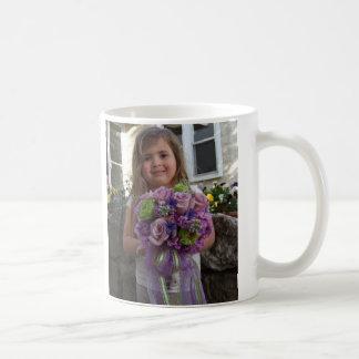 Flowers Basic White Mug