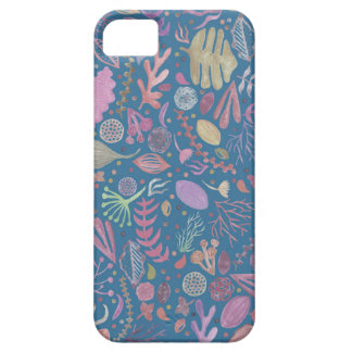 Flowers multicoloured smooth watercolors iPhone 5 case