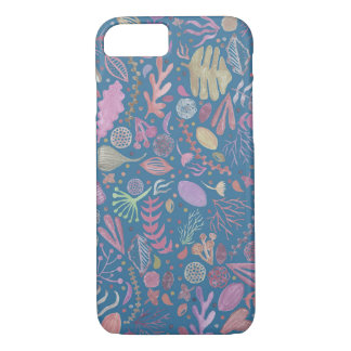 Flowers multicoloured smooth watercolors iPhone 8/7 case