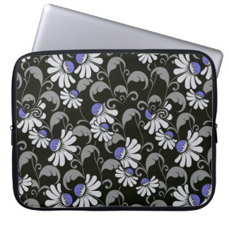 flowers Neoprene Laptop Sleeve
