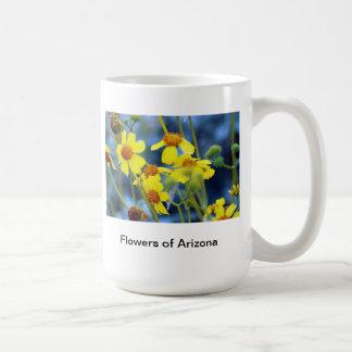 Flowers of Arizona Basic White Mug
