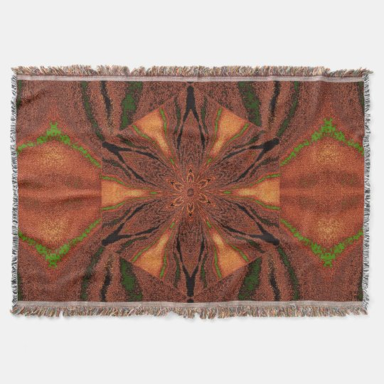 Flowers of Atlantis 5 SDL Throw Blanket