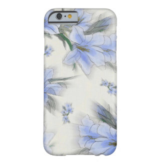 Flowers of Blue Barely There iPhone 6 Case