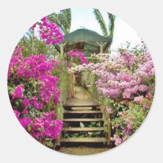 Flowers of Costa Rica 01 Classic Round Sticker