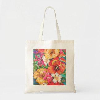 FLOWERS OF FIJI TOTE BAG