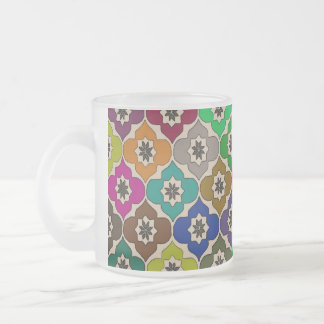 Flowers of Fun - Frosted Glass Mug